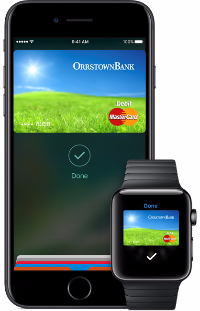 apple pay - iphone & watch